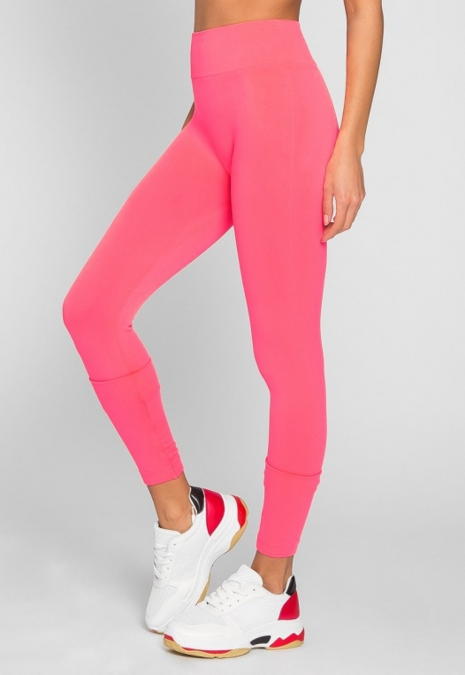 Emery High Waist Leggings in Pink alternate img #4
