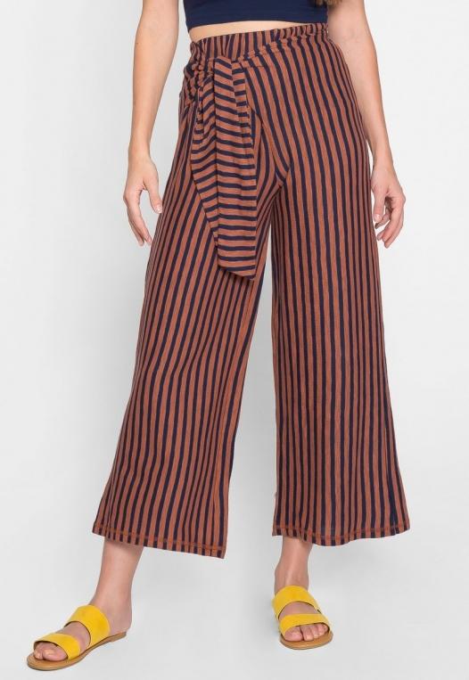 Fischer Side Tied Stripe Pants alternate img #4