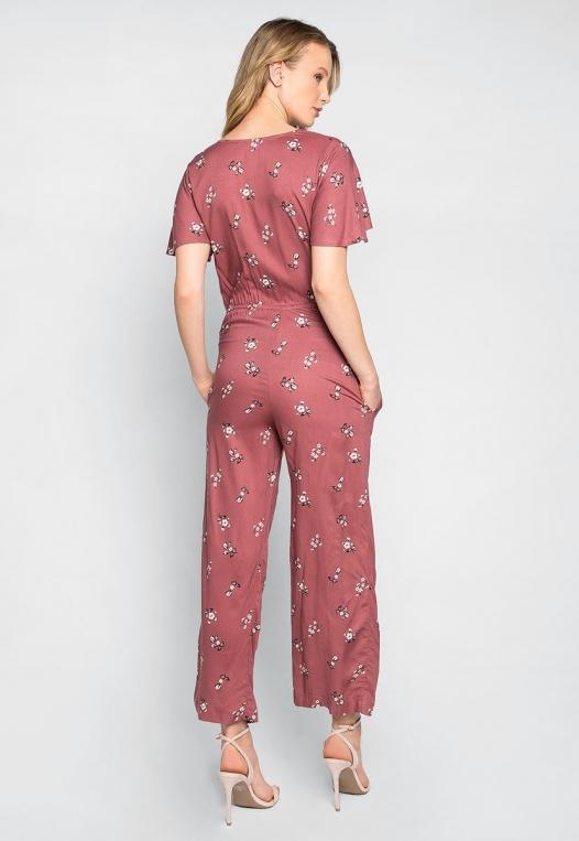 Simple Love Floral Jumpsuit alternate img #2