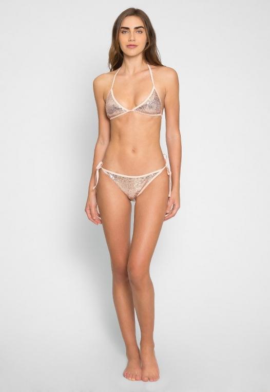 Sweet Luxe Sequin Bikini Set alternate img #4