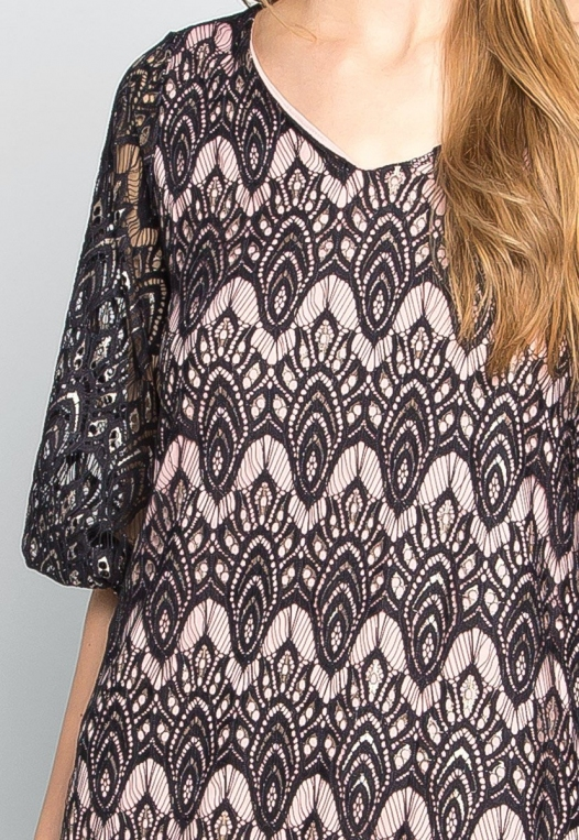Melancholia Lace Mini Dress alternate img #6