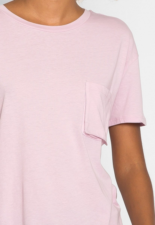 Unity Oversized Tee in Orchid alternate img #6