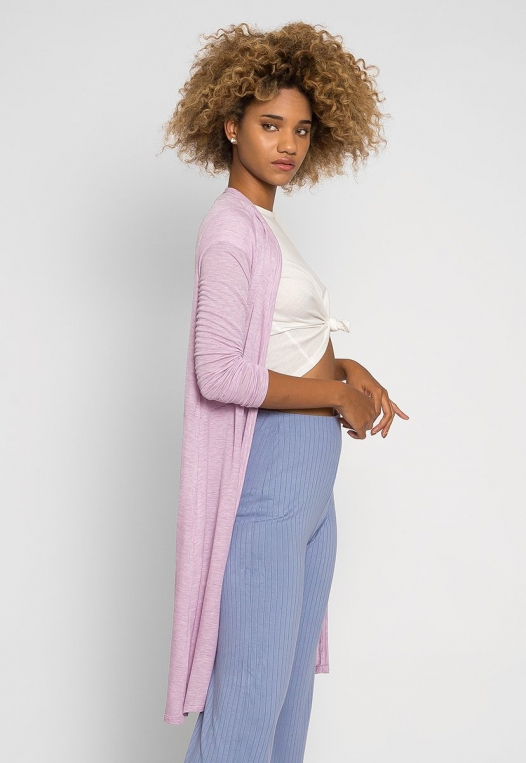 Orchid Fields Duster Cardigan in Lavender alternate img #3