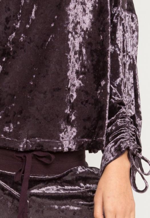 Velvet Evening Crop Sweater alternate img #6
