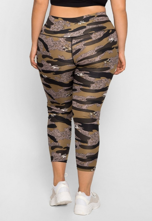 Plus Size Daybreak Active Leggings alternate img #2