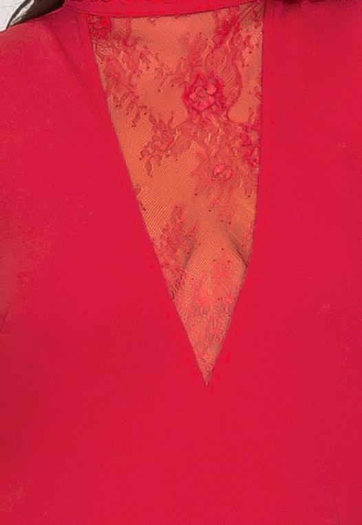 Plus Size Celebration Dress in Red alternate img #7