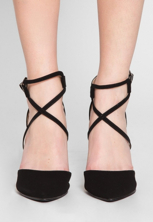 Antonia Ankle Strap Heels alternate img #2