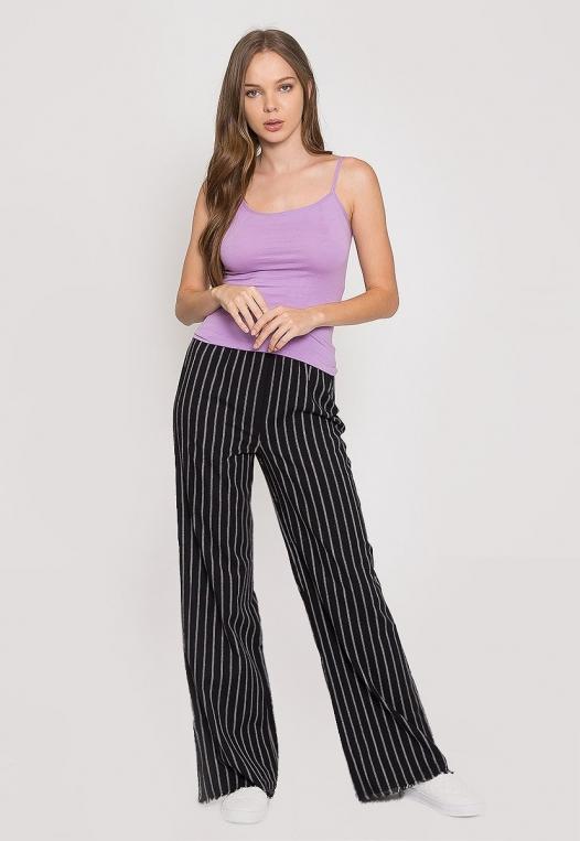 California Basic Cami Top in Lavender alternate img #4