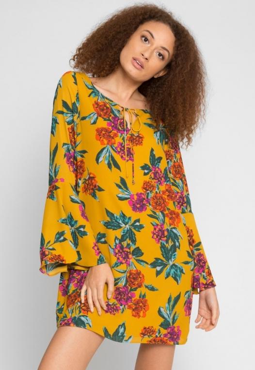 Winner Floral Dress alternate img #1