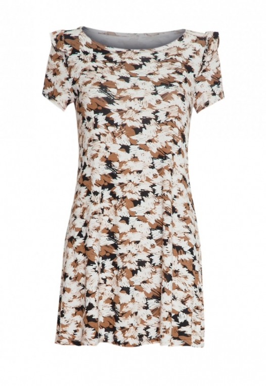 Art District Printed Tunic Dress alternate img #7