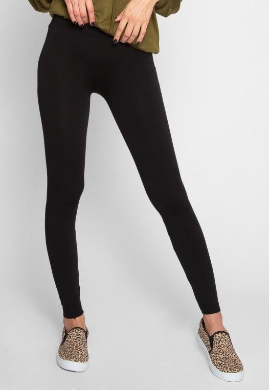 Unison Basic Leggings in Black alternate img #2
