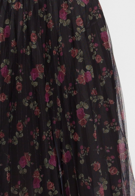 Party Pleated Mesh Floral Skirt alternate img #7