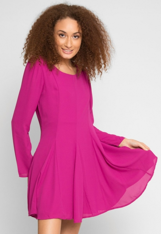 Fun Party Flare Dress alternate img #2
