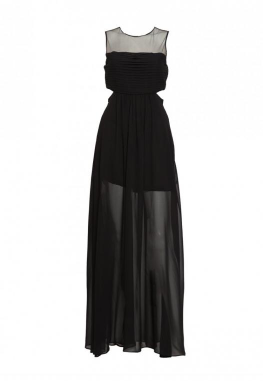 Shine Cut Out Chiffon Maxi Dress alternate img #7