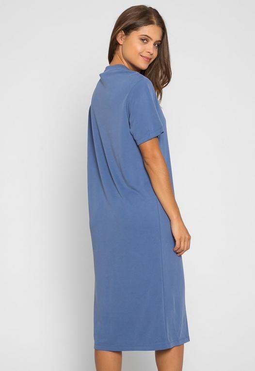Make it Easy Slit Midi Dress alternate img #2