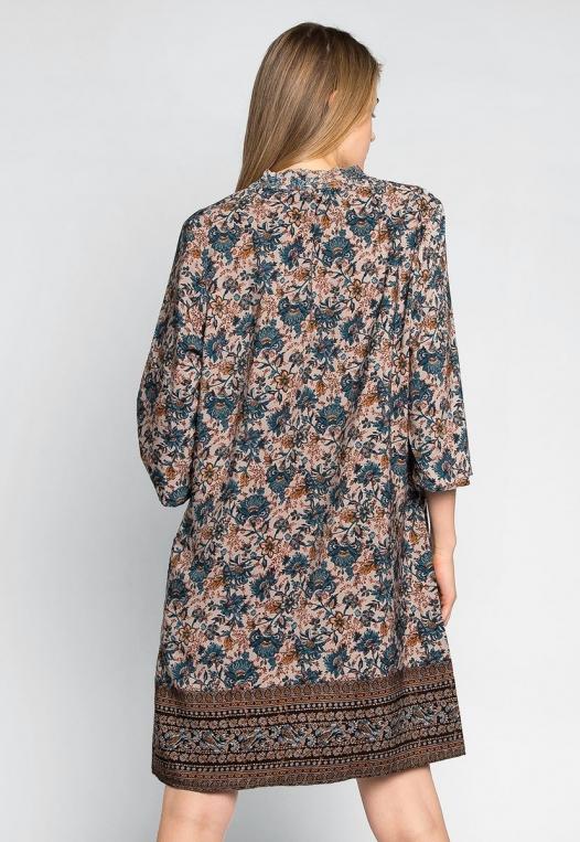 Aurora Boho Tunic Dress alternate img #2