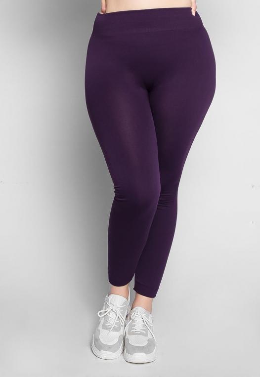 Plus Size Vineyard Fleece Lined Leggings alternate img #1