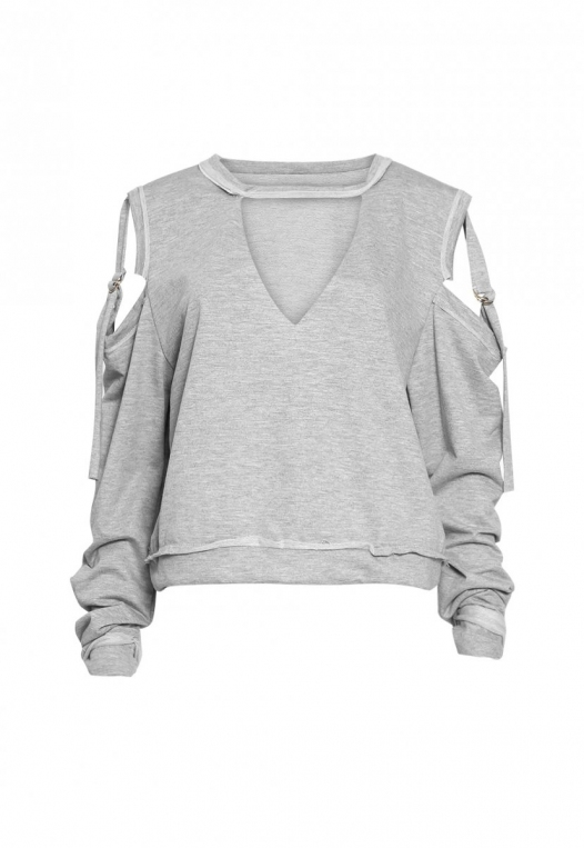 March Cold Shoulder Sweatshirt alternate img #7