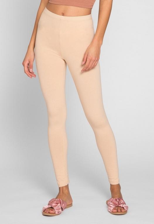 Janis Cotton Leggings in Sand alternate img #1