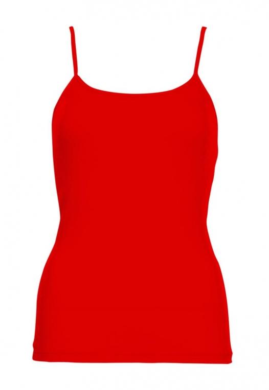 California Basic Cami Top in Red alternate img #7