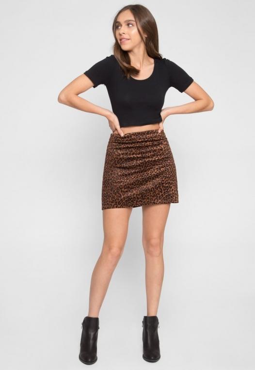 Into The Jungle Leopard Skirt alternate img #2