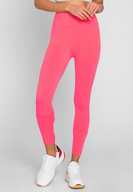 Emery High Waist Leggings in Pink alternate img #3