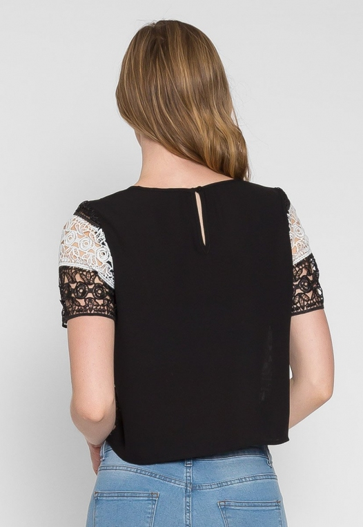 Upbeat Lace Top alternate img #2