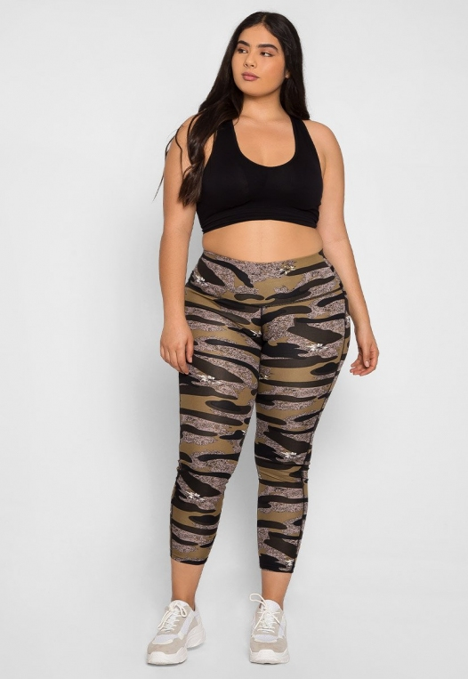 Plus Size Daybreak Active Leggings alternate img #1
