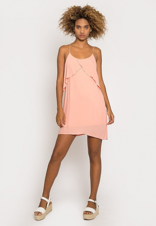 Creme Breezy Dress alternate img #4