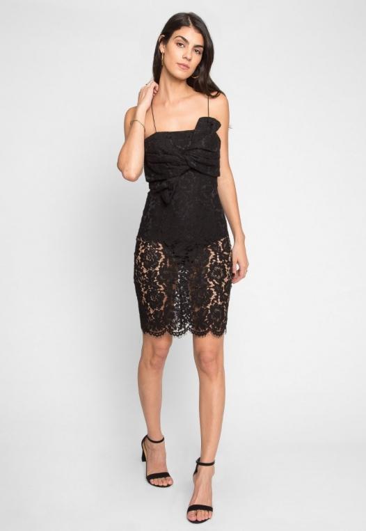 Atlantic Lace Front Tie Dress alternate img #4
