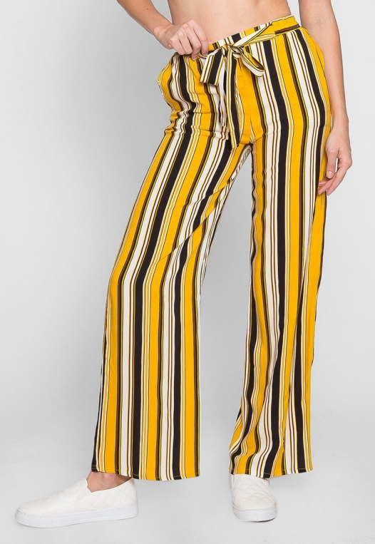 Sunsets High Waist Stripe Pants alternate img #2