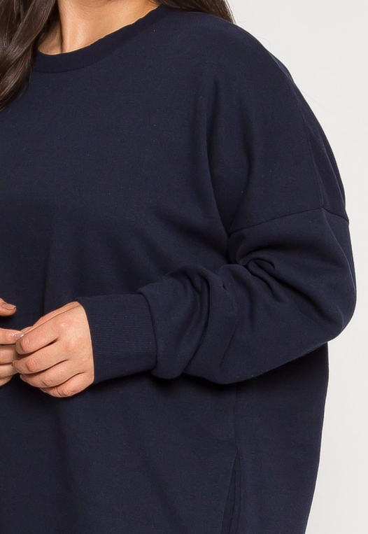 Plus Size Dream Round Neck Sweatshirt alternate img #6