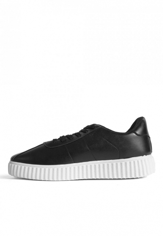 Front Stage Faux Leather Sneakers alternate img #2