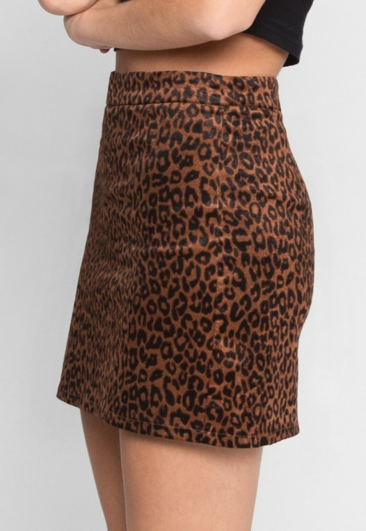 Into The Jungle Leopard Skirt alternate img #4