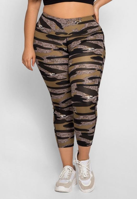 Plus Size Daybreak Active Leggings alternate img #3