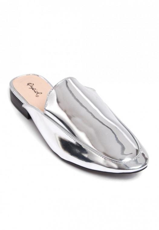 Pixie Metal Mule Slippers alternate img #3