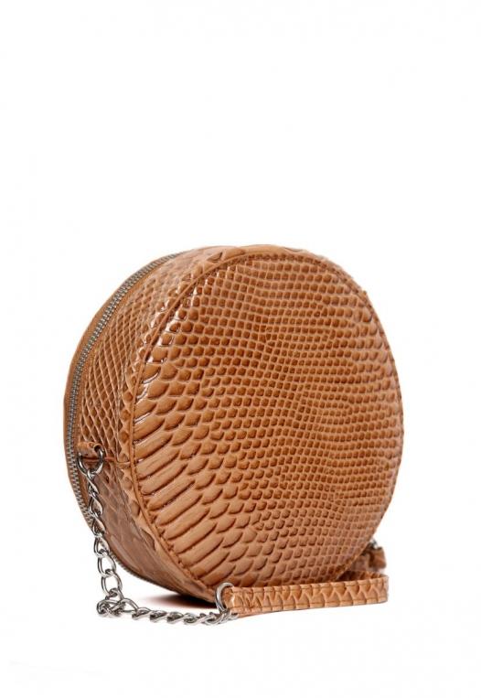 Textured Canteen Circle Bag alternate img #4