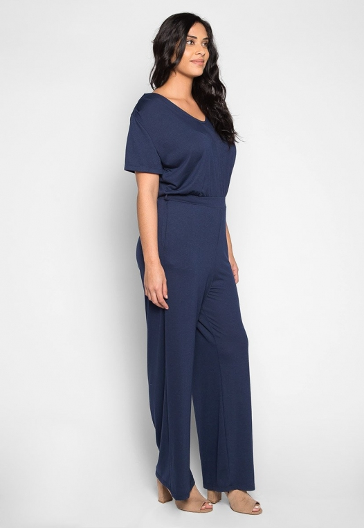 Plus Size Only You V Neck Jumpsuit alternate img #3