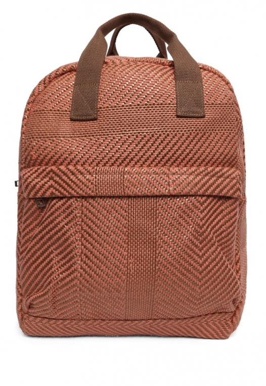 Woven Textured Backpack alternate img #1