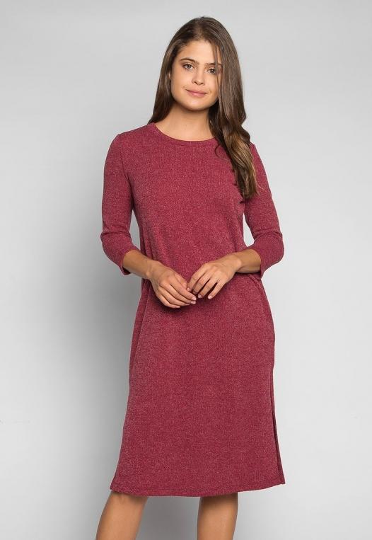 Fashionist Midi Sweater Dress alternate img #1
