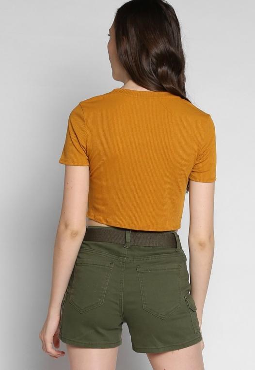 Jungle Belted Cargo Shorts alternate img #2