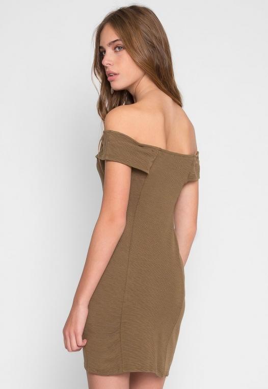 Olive Branch Mini Dress alternate img #3