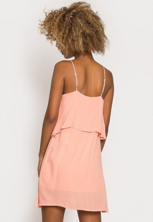 Creme Breezy Dress alternate img #2
