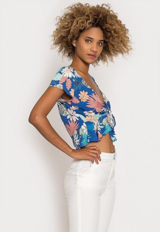 Rami Tropic Floral Blouse alternate img #3