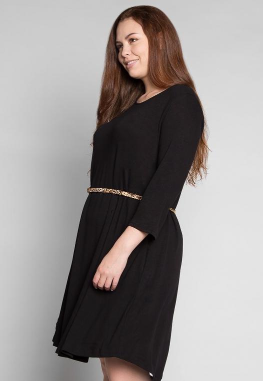 Plus Size Vancouver Dress in Black alternate img #3