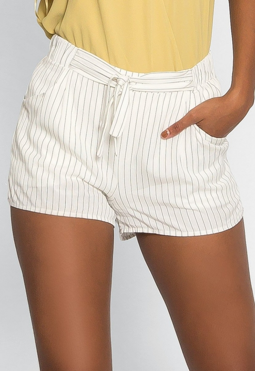 Morning Rise Stripe Shorts alternate img #3