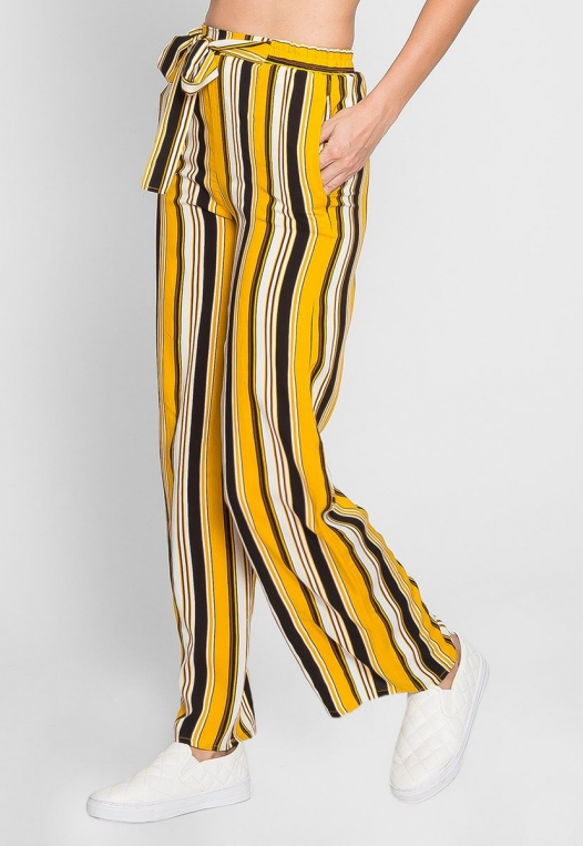 Sunsets High Waist Stripe Pants alternate img #4