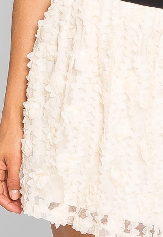 Clover Textured Mini Skirt alternate img #7