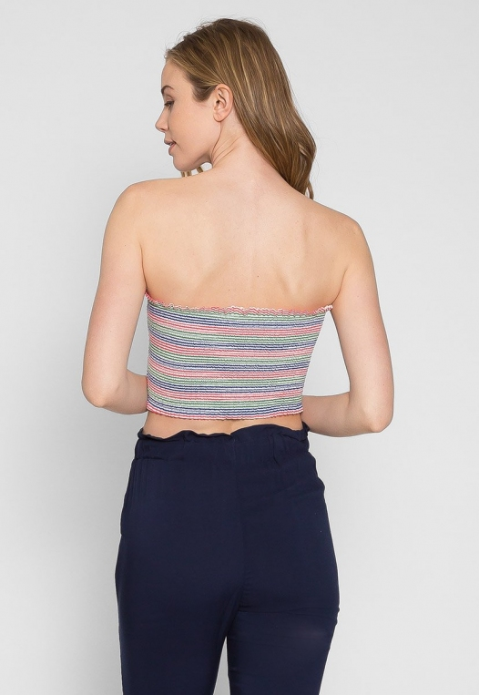 Maybell Tube Top in Pink alternate img #2