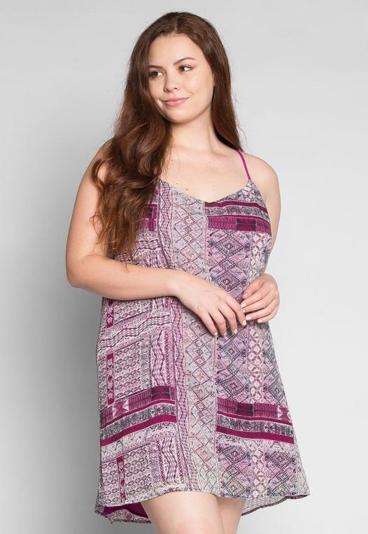 Plus Size California Love Mini Dress alternate img #1